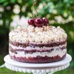 Raw Black Forest Cake