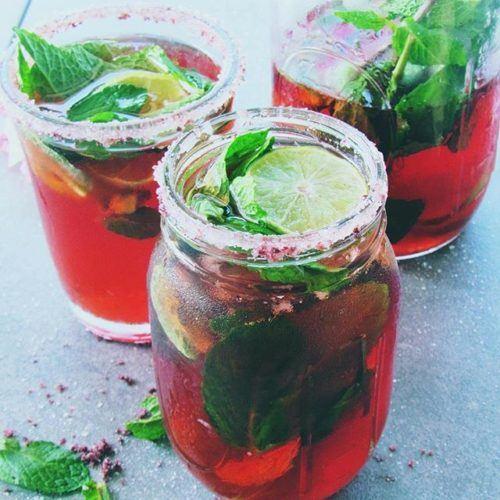 Hibiscus Tea Limeade