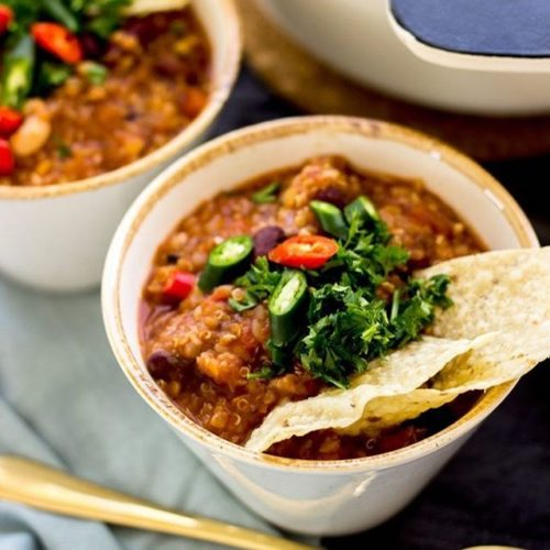 Superfood Chili Bowls