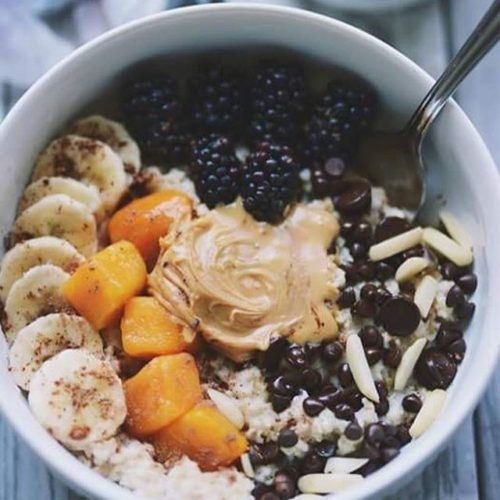 Breakfast Oat Bowl