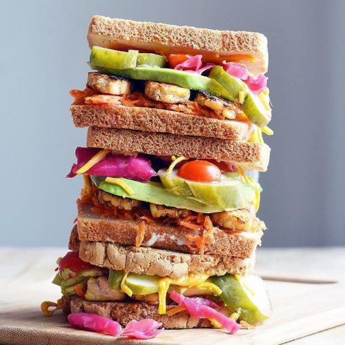 Giant Sandwich Stack