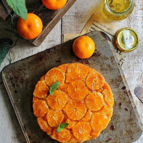 Mandarin Upside Down Cake