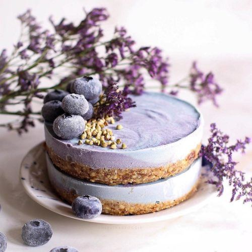 Vanilla Blueberry Cake