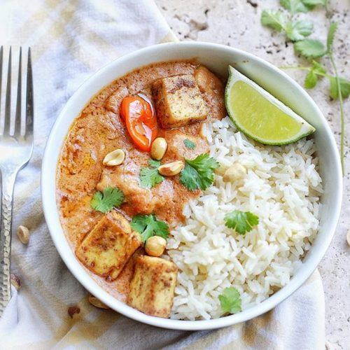 West African Peanut Stew with Tofu