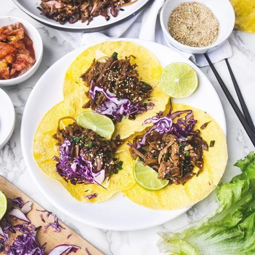 "Korean BBQ ""Bulgogi"" Jackfruit"