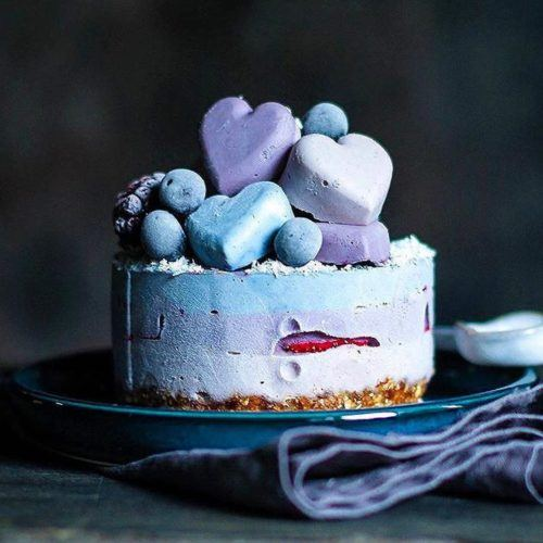 Pastel Raw Cheesecake