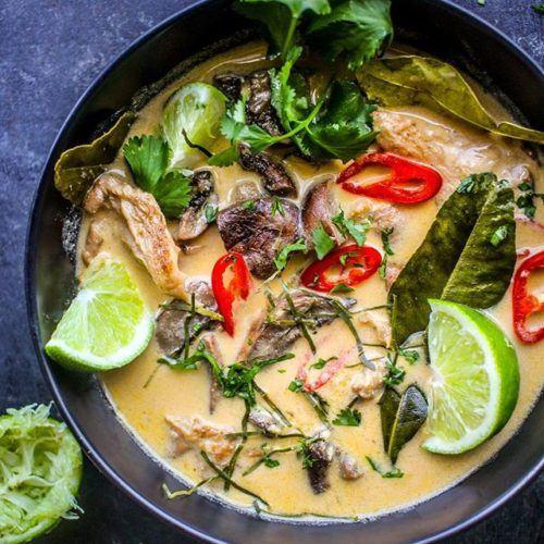 Mushroom Tom Kha Soup