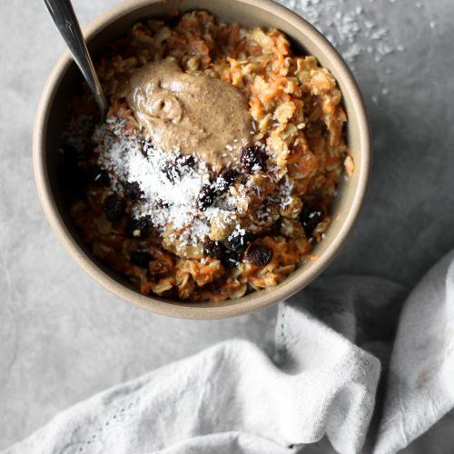 Cozy Carrot Cake Oatmeal