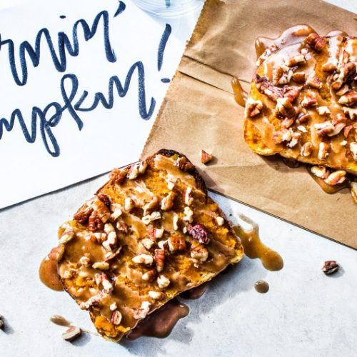 Pumpkin Pie Toasts