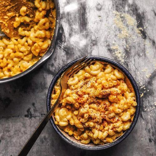 Roasted Butternut Squash and Miso Mac 'n Cheese