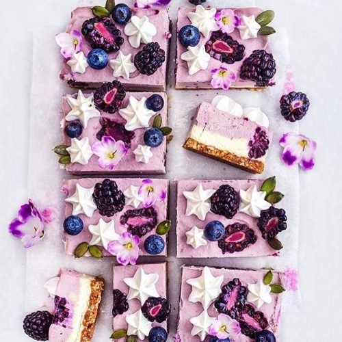 Blackberry Dream Cake