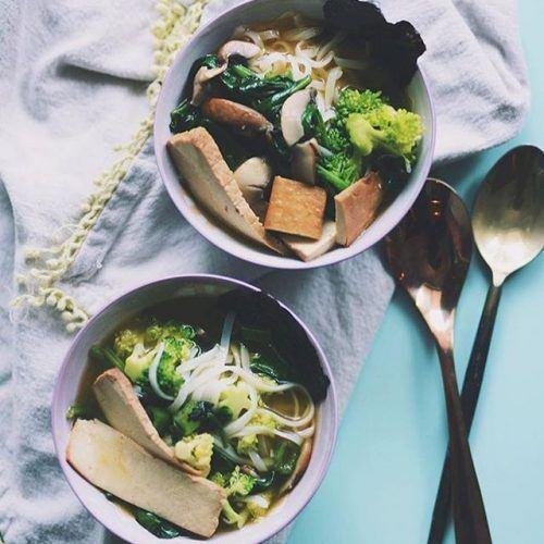 Miso Noodle Soup w/ Tofu
