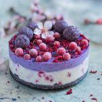 COCONUT AND MAQUI BERRY CHEESECAKE
