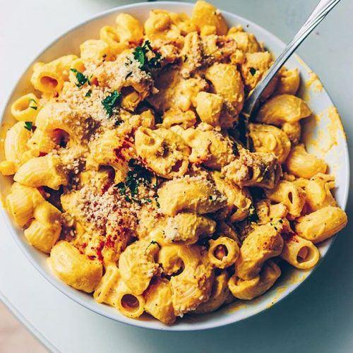 Vegan Corn & Pumpkin Mac 'n Cheese