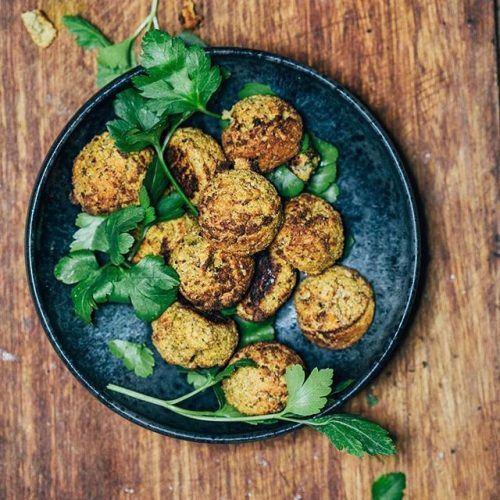 Easy veggie balls