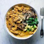 Creamy cashew, pumpkin and sage pasta