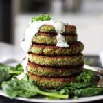 Vegan Spinach Burger