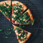 Kale and Walnut Pizza