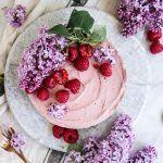 Chocolate Vanilla Raspberry Cheesecake